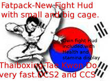 """Combat fight Hud all included with two cages """"promo"""""""