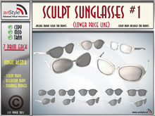 Sculpt SUNGLASSES #1 by **aVISTYLe** (Low Price Line) for FULL PERM