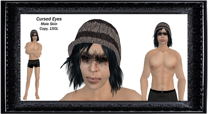 Cursed Eyes male Skin (boxed)