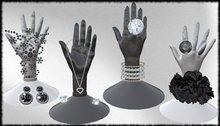Jewelry Display Black&White Resizeable