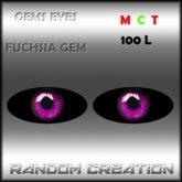 Gems Eyes - Fuchsia Gems