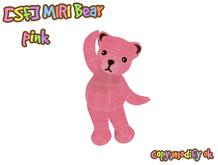 [SF] MIRI_bear_pink
