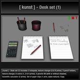 [ kunst ] - Desk set (1)