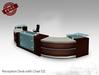 Office Furniture - Lobby Reception Desk DZ FULL PERM