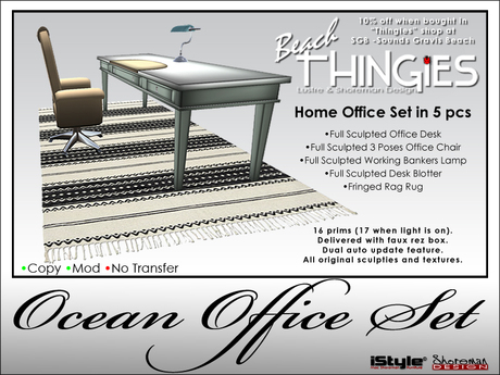 iStyle/Thingies Home Office Set