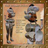 Steam-Stilts By Steam Kitten