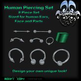 [FPI] Human Piercings Set