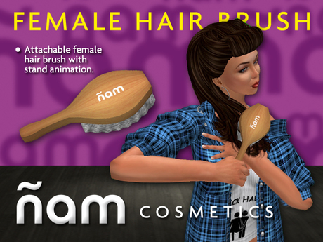 Female Hair Brush ÑAM