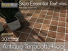 Antique Terracotta Floor - Skye Essential - 30 Full Perms Textures