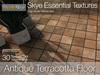 Skye antique terracotta floor textures 1