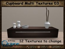 Cabinet Cupboard 03 Multi Texture - Living Room - Dining Room -