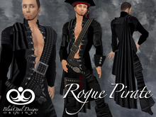 Rogue Pirate Outfit - Black