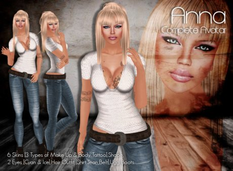 >> Zyra << ANNA ~ Complete Avatar ~ ++ PROMO Price ++