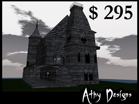 Gothic Moon Manor Goth House Vampire House