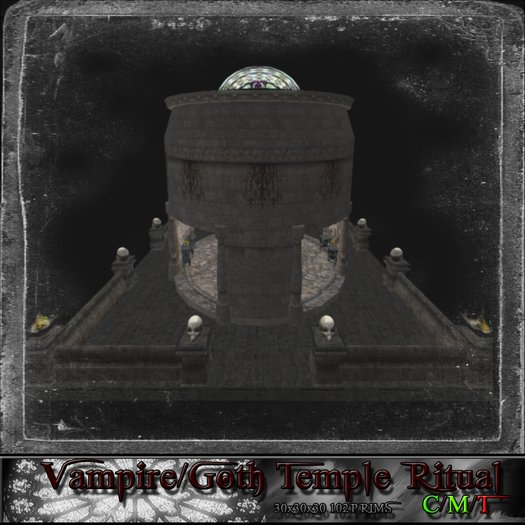 Vampire/Goth Temple Ritual
