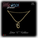Loj letter c necklace gold