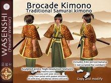 Wasenshi Brocade kimono