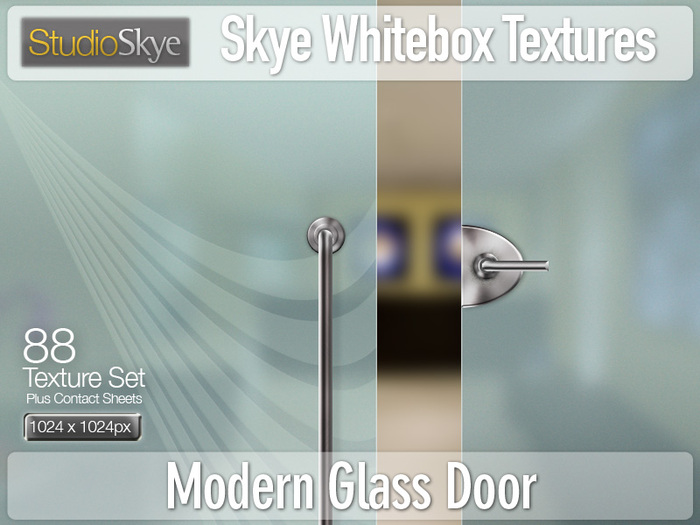 Modern Glass Door Textures  | PROMO PRICE  - 88 Full Perms Textures