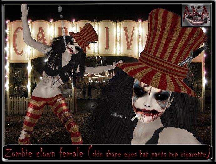 ..::AKA::.. Zombie clown female