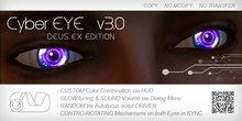 CyberEYE v3.0 DEUS EX Edition + Color Changing HUD