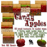 FUD Candy / Caramel Apple Sculpt Map & Texture Pack (Food)