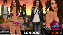 .::NOON::. London Female Shapes