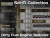 Studio Skye Sci-Fi Textures - 36 Dirty Fuel Engine Textures