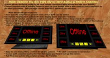 M-V Type RIV Multi Vendor Building Rezzer  w/Info Button & Split Profit Options