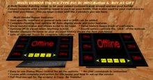M-V TYPE RVI w/Info Button & Buy as Gift Option Multi Vendor Building Rezzer
