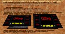 M-V Type RVIII w/Info Button, Split Profit, & Buy as Gift Options Multi Vendor Building Rezzer