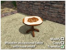 Rose Wooden Table