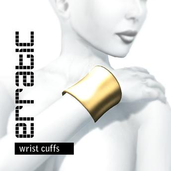 erratic / cuffs / gold