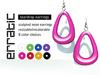 erratic / teardrop earrings / all colors
