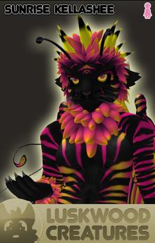 Luskwood Sunrise Kellashee Avatar - Female - Complete Furry Avatar