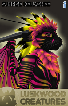 Luskwood Sunrise Kellashee Avatar - Male - Complete Furry Avatar