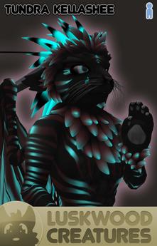 Luskwood Tundra Kellashee Avatar - Male - Complete Furry Avatar