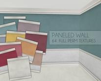 Paneled Wall Textures I 64 Full Perm Textures
