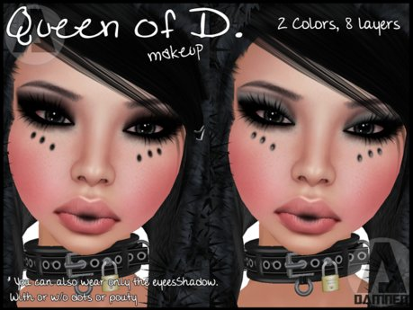 - DAMNED - Queen of D. BlackGray Pack