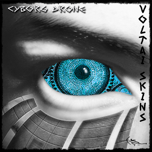 Second Life Marketplace Voltai Ccs Eyes Cyborg Drone Blue Eyes