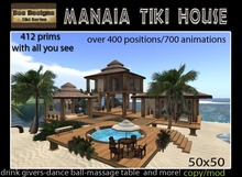 PROMO  3150L OFF! Manaia tiki house - beach house - tropical house
