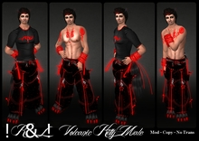 !K&L! Volcanic Kitty Rave Outfit (male)