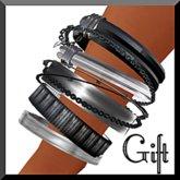 Amour Fashion - Bracelet Metal/Silver