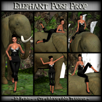 *MP* Elephant (Pose Prop)