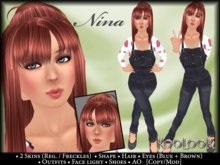 Nina Complete Child Avatar (Approx. 5~9 yrs old / 4'7'' (140cm)