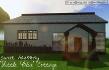"""""""Little Blue"""" Cottage [boxed]"""