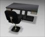 [ kunst ] - Primus Desk II (mod. 2) / black wood - gold