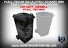 ~Full perm sculpted Trash container / bin + Maps AND TEXTURE!