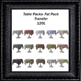 Table Packs-  Fat Pack