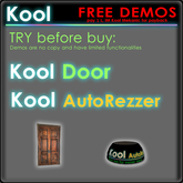 Kool free DEMO * Door & AutoRezzer