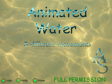 Animated Water